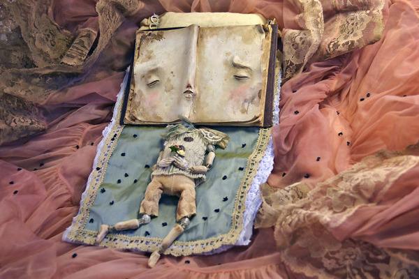 キモカワ!?ポリマークレイ製の手作りクリーチャー人形 (4)