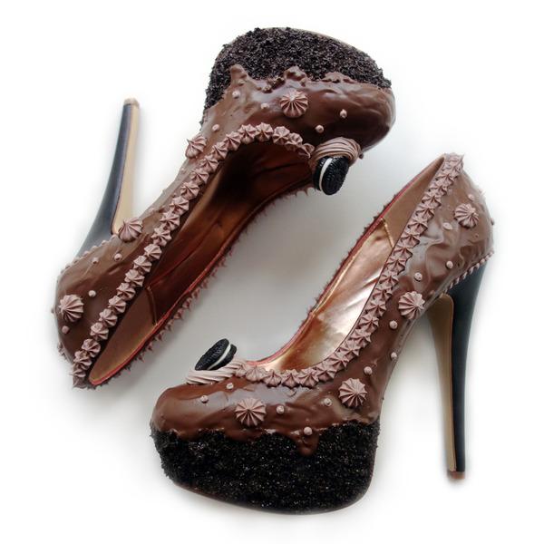 ケーキやアイスクリームみたいなスウィーツなレディース靴 (8)
