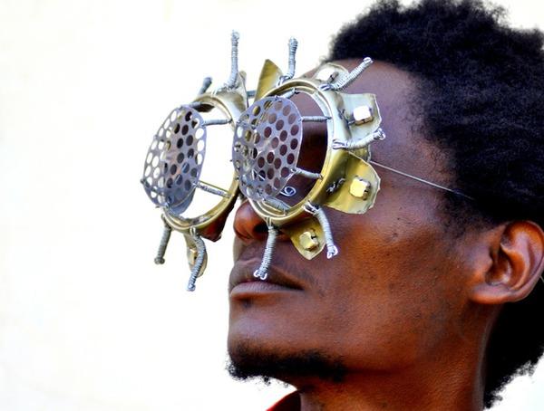 ユニークな眼鏡デザイン (3)