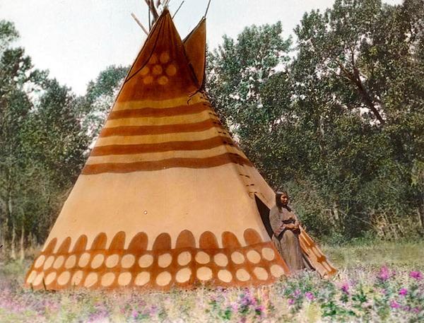 インディアン(ネイティブ・アメリカン)の貴重なカラー化写真 (25)
