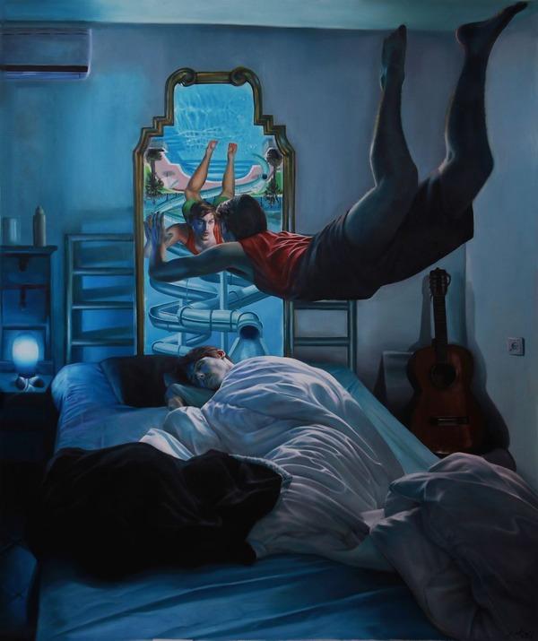 夢は忘れるから…夢を絵に描いて残す!! (6)