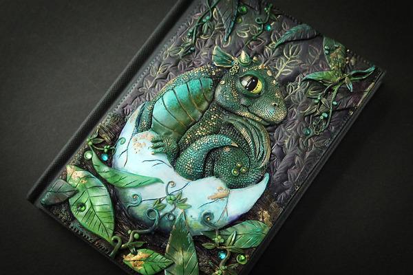 動物や自然をモチーフにした幻想的なブックカバー! (16)