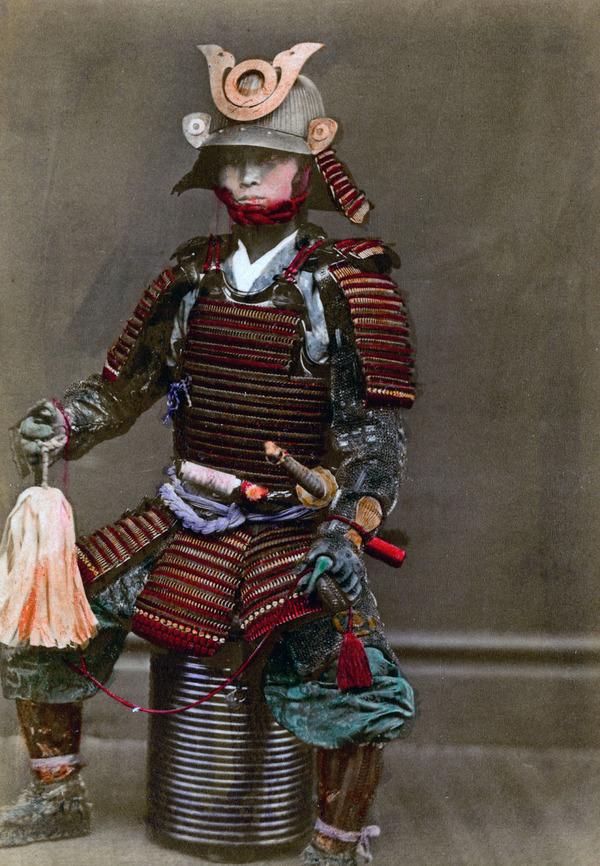 ラストサムライ…!19世紀、明治時代の侍の貴重な写真 (18)