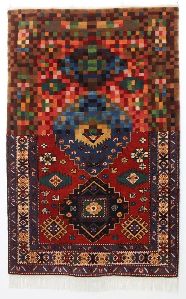 歪む、溶ける、飛び出す!不思議な形をした絨毯 (6)