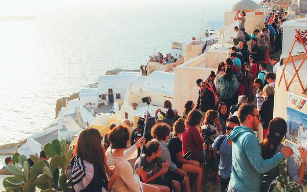 サントリーニ島2