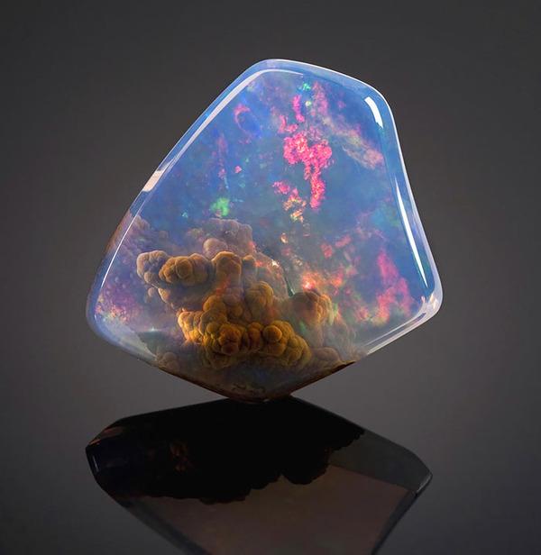Luz Opal With Galaxy Inside,オパールルース