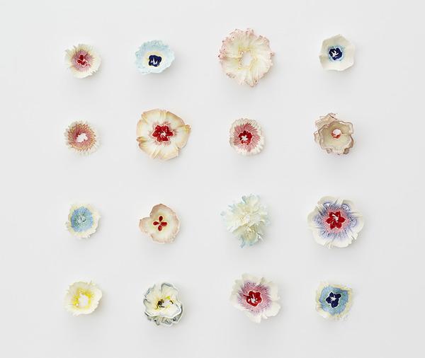 鉛筆削りの屑が美しい花となる『紙の花』 (4)