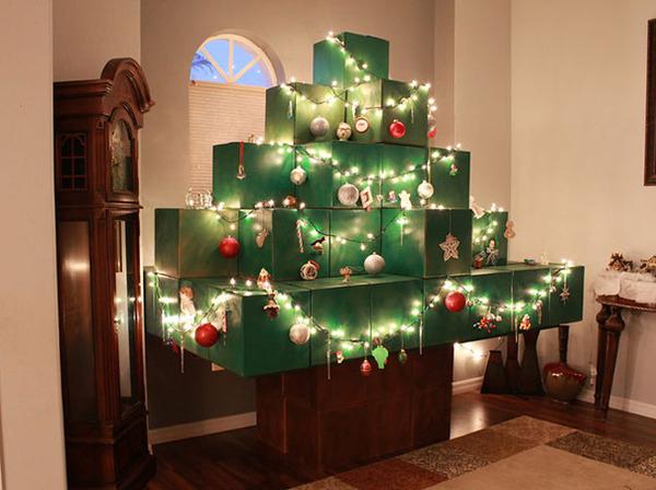 一味違ったちょっとクリエイティブなクリスマスツリー画像! (15)