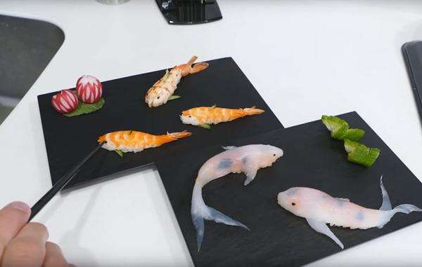 コイ寿司!自宅でも簡単に作れる鯉の形をしたお寿司 (7)