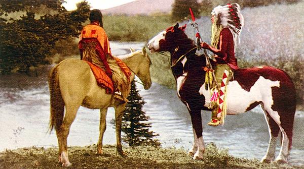 インディアン(ネイティブ・アメリカン)の貴重なカラー化写真 (2)