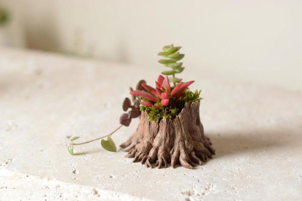 動物や植物な樹脂製アートプランター!『HARIMOGURA』 (9)