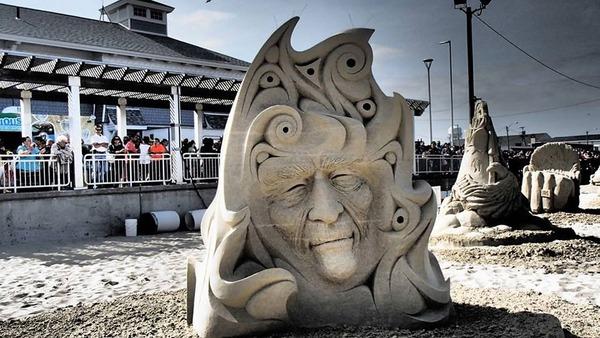 砂の彫刻コンテスト ハンプトン・ビーチ (18)