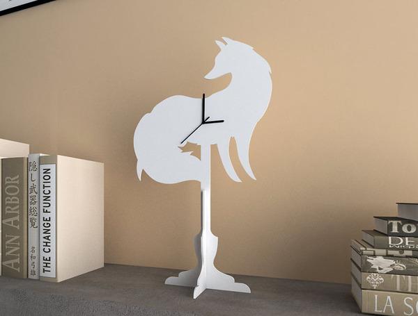 キツネの時計 2