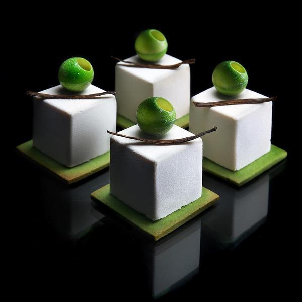 完璧な形状をしたデザート…幾何学的なスイーツ特集 (7)