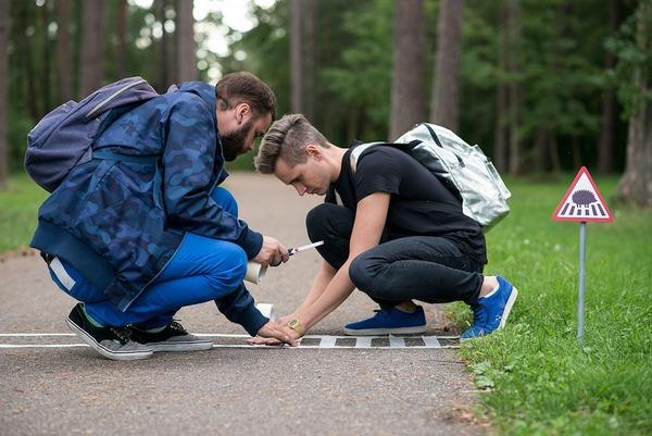 街に設置する動物の道路標識・看板 (5)