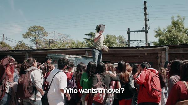 小説が欲しいのは?