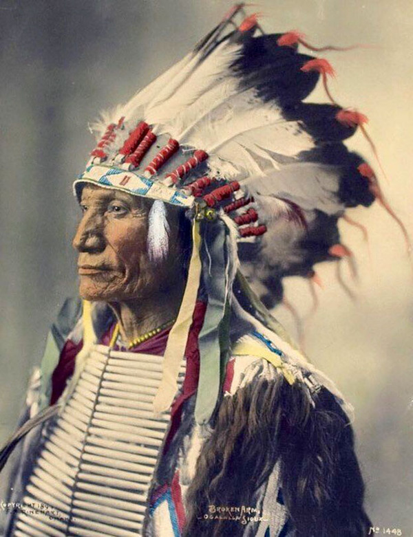 インディアン(ネイティブ・アメリカン)の貴重なカラー化写真 (18)
