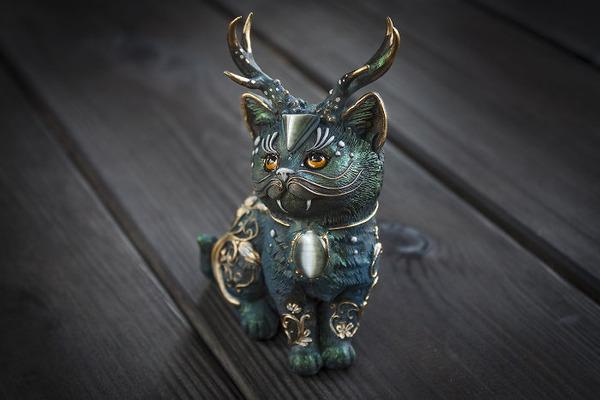 創造動物!神話をモチーフにしたユニークな手作りアクセサリー (9)
