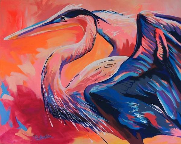 超カラフルな動物の肖像画シリーズ (10)