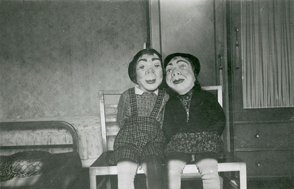 昔のハロウィンの写真がガチでホラーすぎる…! (13)