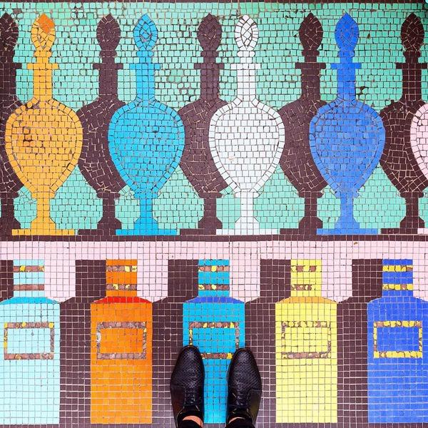 パリは床もお洒落だった!足元に広がる様々なデザインパターン (5)