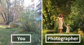 プロカメラマンの技術…!同じ場所で撮影してもこんなに違う比較画像