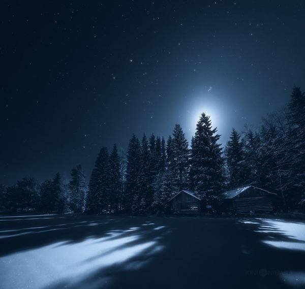 綺麗すぎ!フィンランドの夜空、満天の星空の写真 (6)