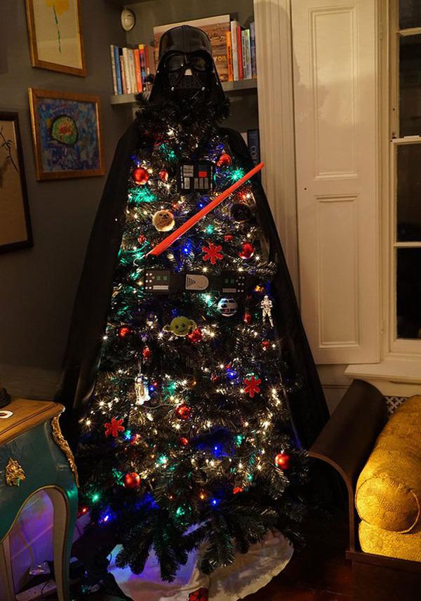 一味違ったちょっとクリエイティブなクリスマスツリー画像! (3)