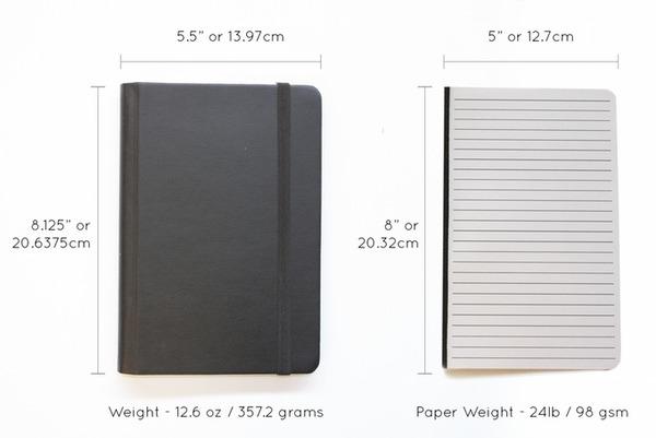 『Rekonect Notebook』ページをシャッフル!マグネット式ノート (3)
