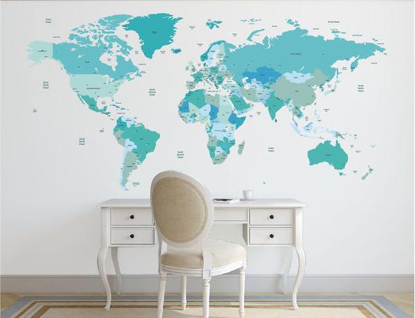 世界政治地図