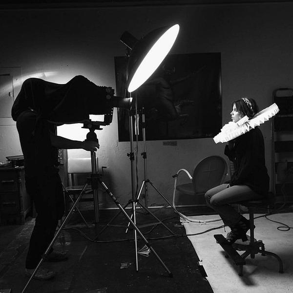 160年前のカメラで撮る肖像写真 (7)
