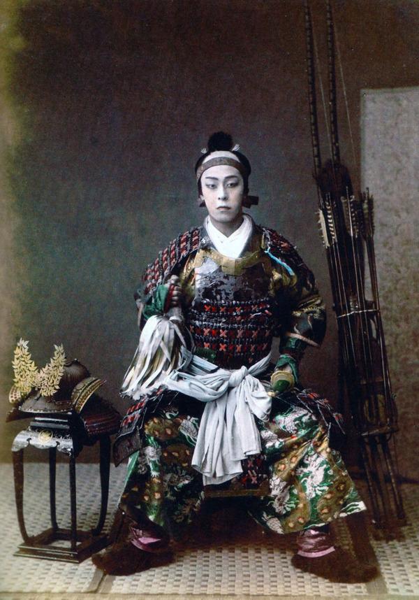 ラストサムライ…!19世紀、明治時代の侍の貴重な写真 (4)