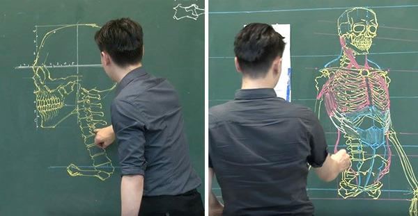分かりやすい!デッサンスキルを生かした解剖学の授業 (8)