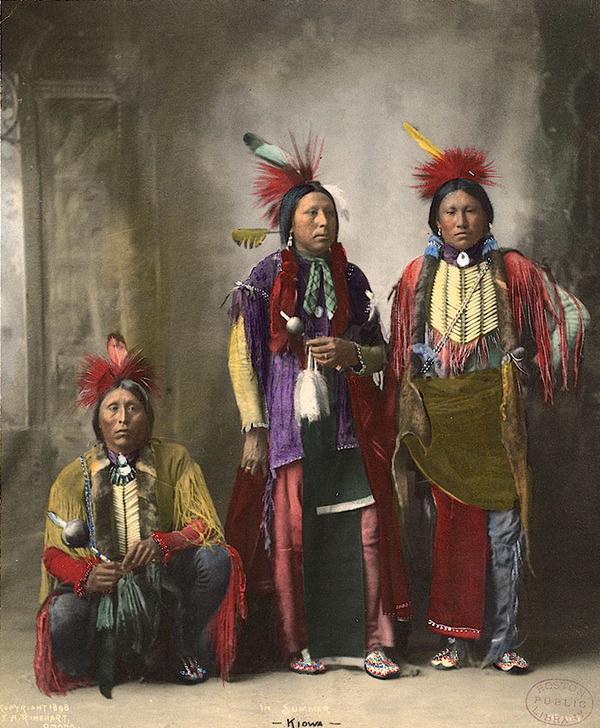 インディアン(ネイティブ・アメリカン)の貴重なカラー化写真 (40)