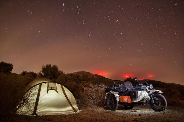 09 スペインでのキャンプ