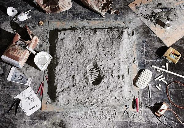 月面着陸,ミニチュアジオラマ,1969