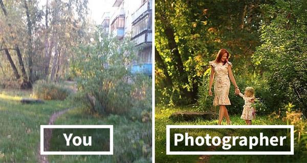 プロカメラマンの技術!同じ場所で撮影しても違う比較画像 (1)