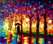 全盲の天才画家、ジョン・ブランブリットが描く色鮮やかな絵画