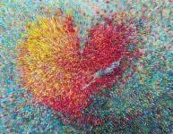 マルベリーペーパーを使用した色彩豊かな芸術作品!
