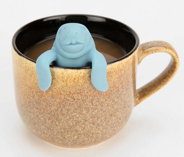 マナティの茶留め