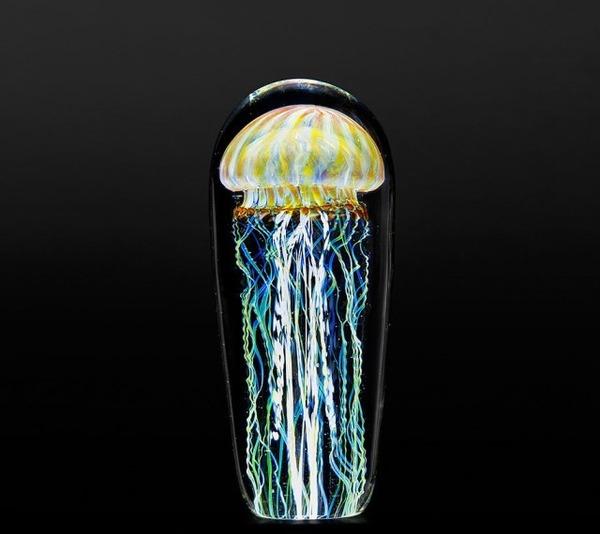 クラゲのガラスアート Richard Satava 9