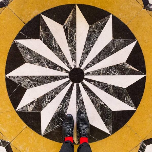 色んな床いっぱい。イタリア、ヴェネツィアの床のデザイン (11)