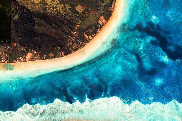 美しい衛星写真!グーグルアースで見れるフラットな絶景 (1)