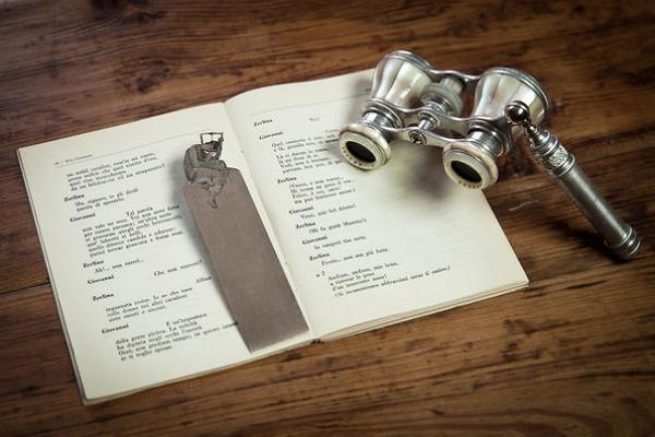 silverleaf 銀の彫刻が施された栞(しおり)8