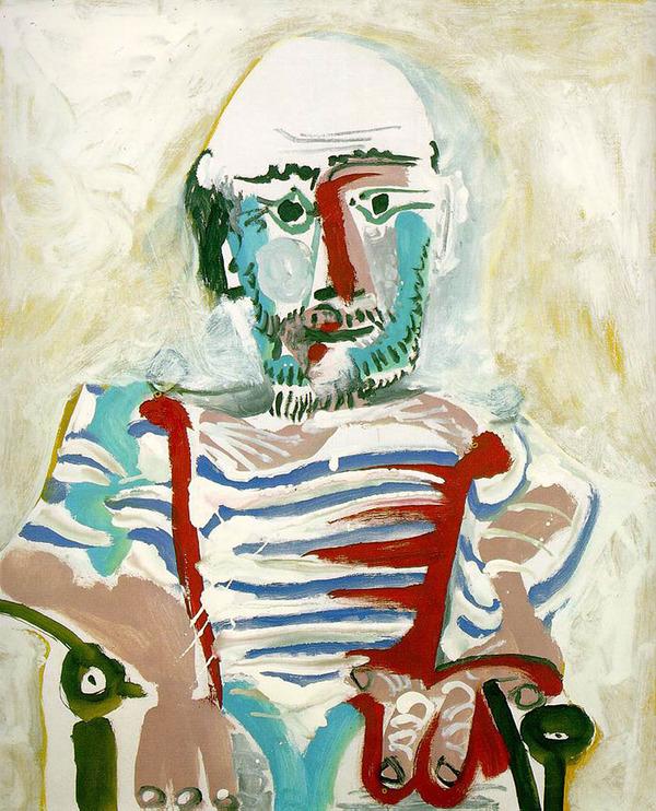 ピカソの自画像!15歳から90歳までの肖像画 (6)