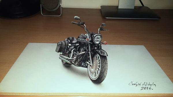 歪像によって浮き出て見える3D絵画アートが面白い! (3)