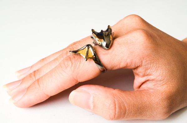 かっこかわいい。竜をモチーフにした指輪『ドラゴンリング』 (10)