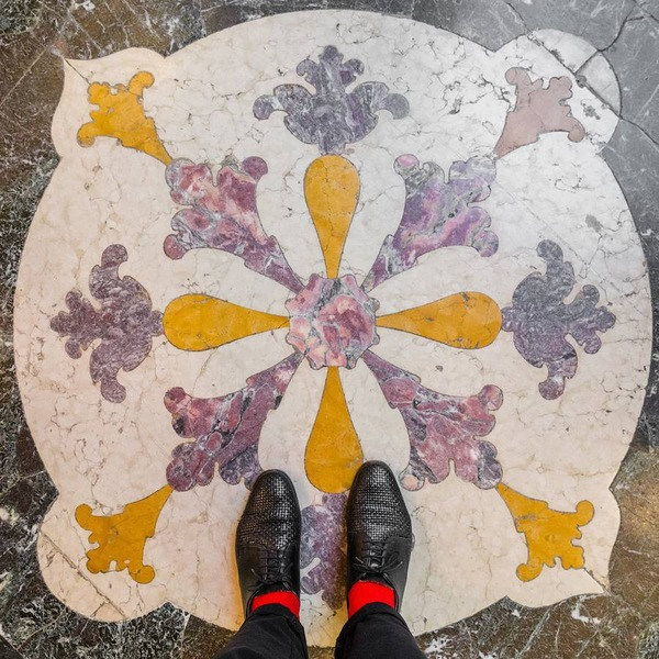 色んな床いっぱい。イタリア、ヴェネツィアの床のデザイン (13)