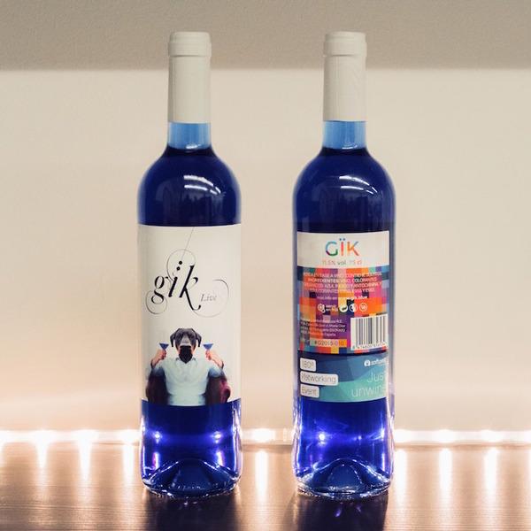 超爽やか!革新的な青いワイン『Gik』 (4)