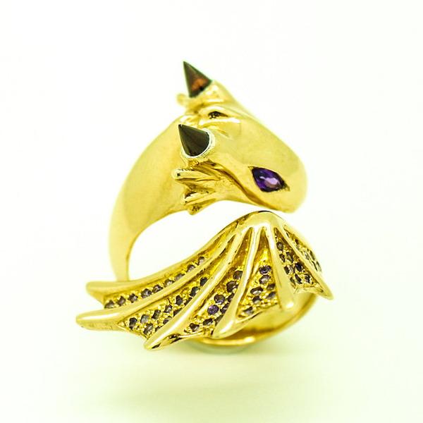 かっこかわいい。竜をモチーフにした指輪『ドラゴンリング』 (3)